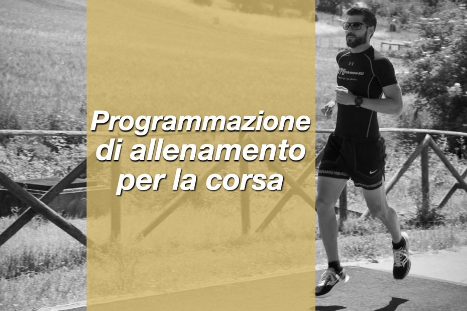 programmazione allenamento corsa